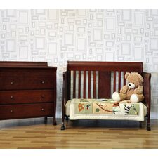 <strong>DaVinci</strong> Porter 4-in-1 Convertible Crib Set with Toddler Bed Conversion Kit