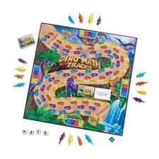 Dino Math Tracks Game