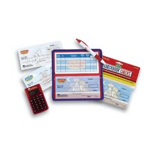 <strong>Learning Resources</strong> Pretend and Play Calculator Checkbook