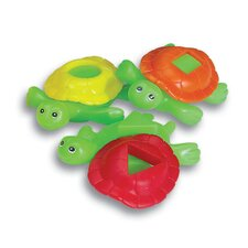 Smart Splash Shape Shell Turtles 8 Piece Set