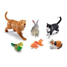 <strong>Learning Resources</strong> Jumbo Domestic Pets 6 Piece Set