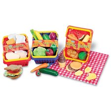 14 Piece Pretend and Play Sandwich Set