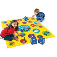 <strong>Learning Resources</strong> Rhyming Marks the Spot Floor Game