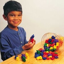 <strong>Learning Resources</strong> Three Bear Family Rainbow Counters 96 Piece Set