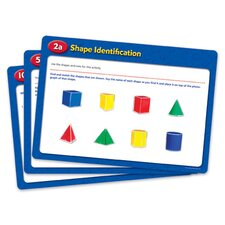 <strong>Learning Resources</strong> Folding Geometric Shapes Activity Cards