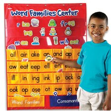 Word Families and Rhyming Center Pocket Chart
