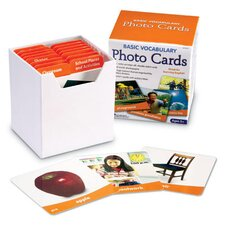 Basic Vocabulary Photo Card 156 Piece Set
