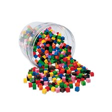 <strong>Learning Resources</strong> Centimeter Cubes 500-pk 10 Colors