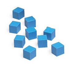 Base Ten Units Plastic Blue (Set of 100)