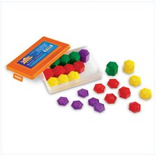 <strong>Learning Resources</strong> 54 Piece Metric Weight Set