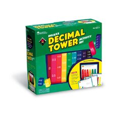 Deluxe Decimal Tower Activity 51set
