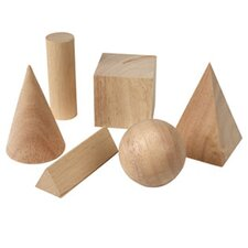 Basic Geometric Solids 6 Piece Set