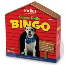 Radius Super Skills Bingo Cd Card