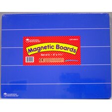<strong>Learning Resources</strong> Magnetic Board 9 X 11-1/2 (Set of 5)