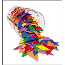 <strong>Learning Resources</strong> Tangrams Classpack 30 Piece Set