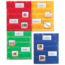 Magnetic Pocket Chart Square (Set of 4)