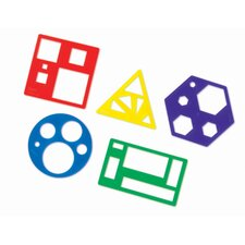 Primary Shapes Template 5 Piece Set
