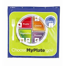 <strong>Learning Resources</strong> Healthy Helpings MyPlate Pocket Chart