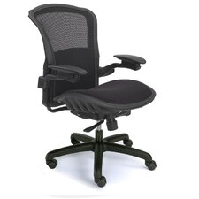 Mid-Back Magnum Office Chair with Ergonomic Support