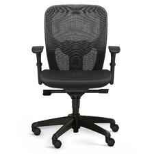 Mid-Back Polo Office Chair with Optional Headrest