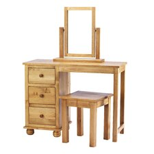 Belmont Dressing Table with Stool and Mirror