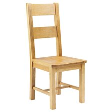 Taunton Oak Dining Chair with Wooden Seat