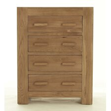 Block Bedroom 4 Drawer Chest