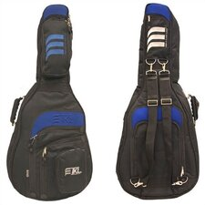 <strong>TKL Cases</strong> Classical Guitar Bag w/ Blue Accent Trim