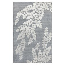 Moderne Silvered Gray Area Rug