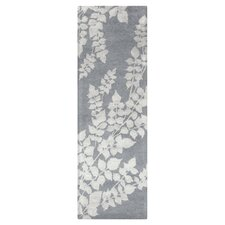 Moderne Silvered/Gray Area Rug