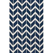 Fallon Sapphire Blue Area Rug