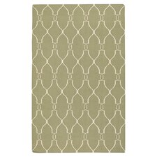 Fallon Vertical Sage/Ivory Area Rug