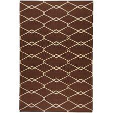 Fallon Chocolate/Ivory Area Rug