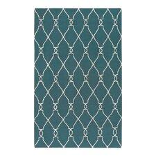 Fallon Turquoise/Ivory Rug