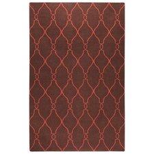 Fallon Brown/Rust Area Rug
