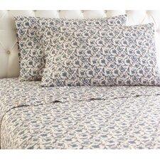 Micro Flannel® Jacobean Floral Sheet Set