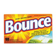 Bounce Dryer Sheets, Reduces Static, 160 Sheets per Box