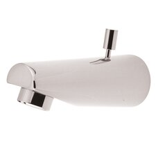 Spout For Tub and Shower Faucet with Diverter
