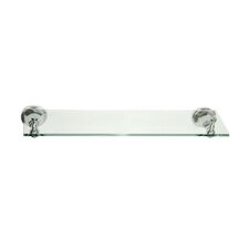 Metropolitan New York Glass Shelf