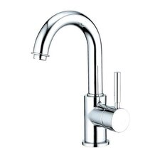 Nuvo Single Hole Bathroom Faucet with Single Lever Handle