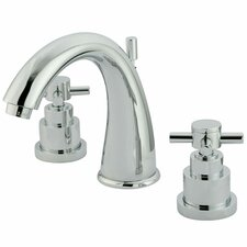 <strong>Elements of Design</strong> Tampa Widespread Bathroom Faucet with Double Cross Handles