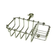 "<strong>Elements of Design</strong> Vintage 7"" Riser Mount Soap Basket"