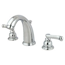 <strong>Elements of Design</strong> Widespread Bathroom Faucet with Double French Lever Handles