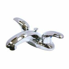 Daytona Centerset Bathroom Faucet with Double Lever Handles