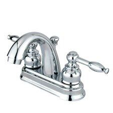 Denver Centerset Bathroom Faucet with Double Lever Handles
