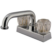 Centerset Laundry Faucet with Double Knob Handles