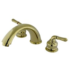Magellan Double Handle Deck Mount Roman Tub Faucet Trim Magellan Lever Handle
