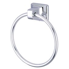 "American 7"" x 6"" Towel Ring in Chrome"