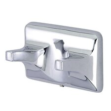 American Robe Hook in Chrome