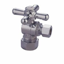 Accents Decorative Quarter Turn Valves with Cross Handles